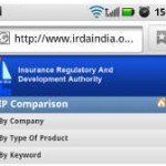 IRDA launches mobile website for comparing insurance products