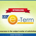 LIC's Online Term Insurance – e-Term : Review